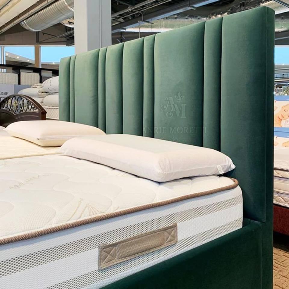 """Кровать """"пальчики"""" зеленая"""
