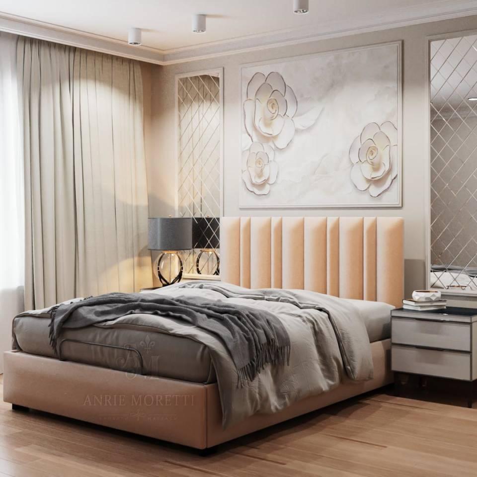 Двуспальная кровать с массажем и пультом управления